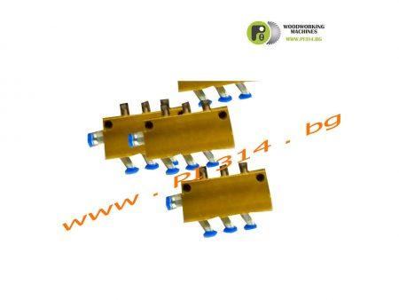въздушен разпределител за CNC рутер